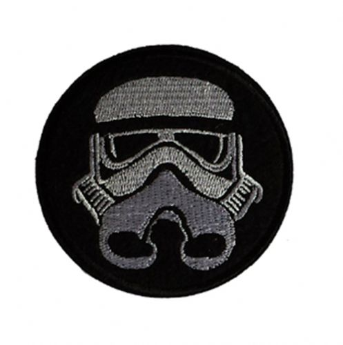 Storm Trooper Iron / Sew On Embroidered Patch